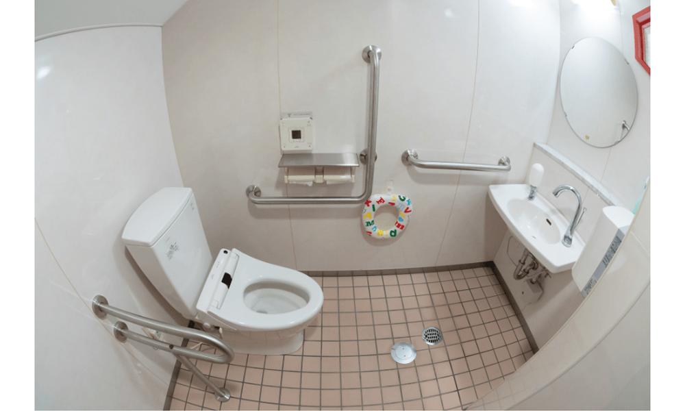 障害者兼用トイレ